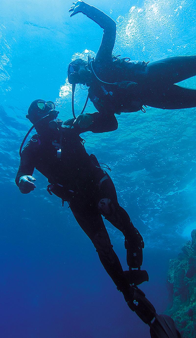 Volcano dive center Scuba diving Santorini