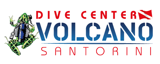 Volcano dive center logo