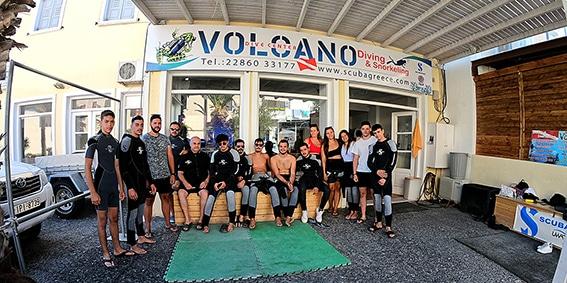 Volcano Dive Center Diving Snorkeling Santorini